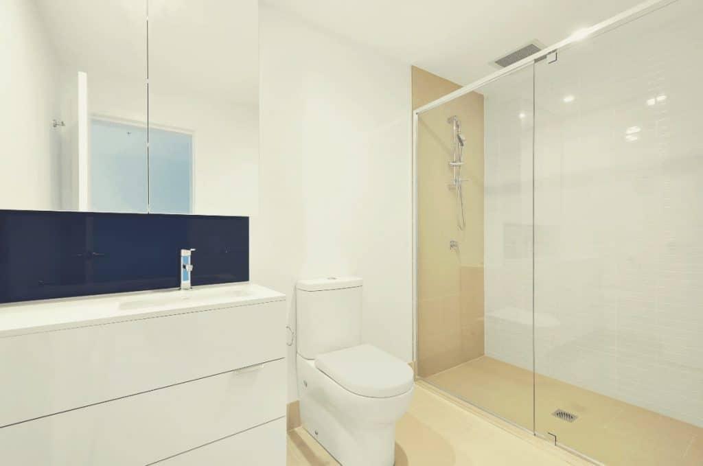 Bathroom With Dual Flush Toilet