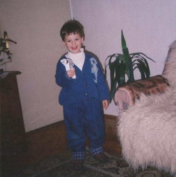 Little Alex with Drill Tool