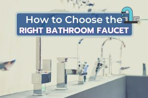 Selection of faucets