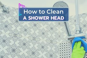 Scrubbing a Shower Head