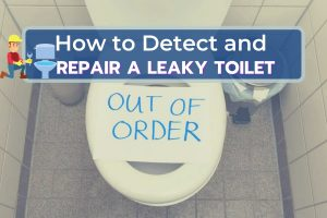 Leaky Toilet Out of Order
