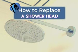 Fixed Shower Head Off the Wall