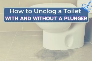Leakage from a Clogged Toilet