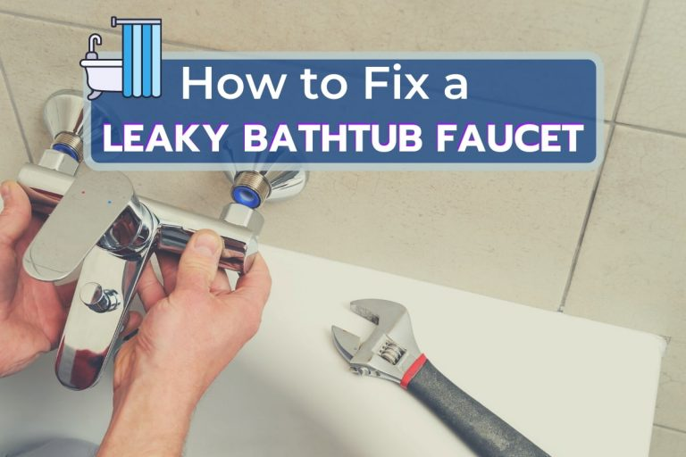 Handyman Repairing Leaky Bathtub Faucet