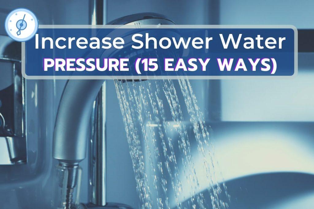 Shower Water Pressure